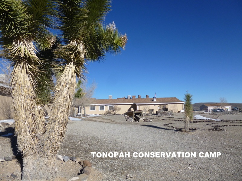 tonopah conservation camp facility nevada department of corrections