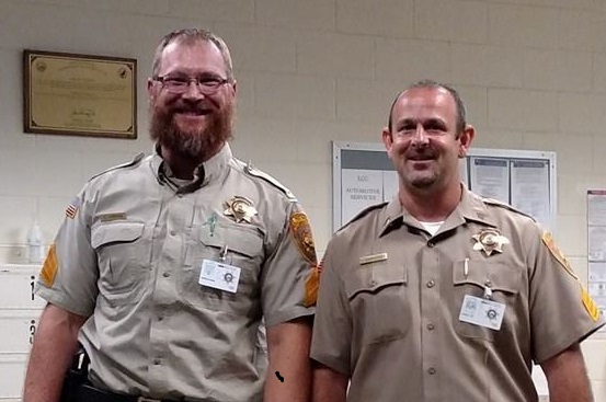 Two Lovelock Correctional Officers